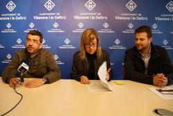 Francesc Sánchez, Neus Lloveras i Gerard Figueras