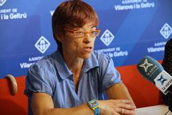 Blanca Albà, regidora de Medi Ambient