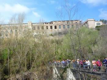 Visita a la colònia tèxtil d'Ametlla de Merola