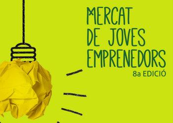 El Mercat de Joves emprenedors, a la plaça de la Vila