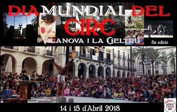Cartell Dia Mundial del Circ 2018