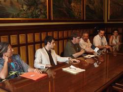 El conveni va signar-se ahir a l'Ajuntament de VNG