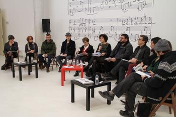 La presentació s'ha fet al hall de l'Auditori Eduard Toldrà