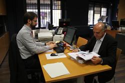 Josep Ibars ha entrat per registre la memòria 2013 del Defensor de la Ciutadania