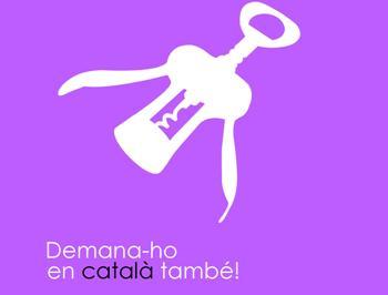 El tirabuixó és un dels símbols de la campanya que anima a utilitzar el català als comerços