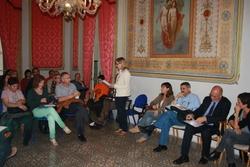 La reunió es va celebrar a la Sala Noble de la Casa Olivella