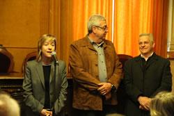 L'alcaldessa de VNG, Neus Lloveras, ha agraït la col·laboració desinteressada dels empresaris participants