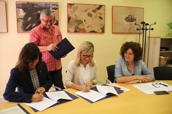 Signatura conveni SAI LGTBI