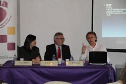 D'esquerre a dreta, Ariadna Llorens, Miquel Garcia i Llorenç Rosselló