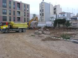 Terrenys on es construirà el nou CAP de VNG