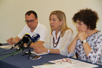 Juan Luís Ruiz, Neus Lloveras i Teresa Llorens