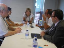 La reunió també va servir per exposar els projectes de l'Agència de Desenvolupament Econòmic Node Garraf