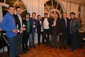 Fotografia dels premiats a la Nit Canallesca (FOTO: APG)