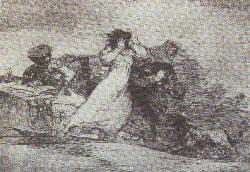 un dels seixanta gravats realitzats per l'artista aragonès