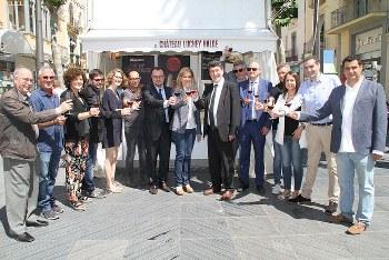 Representants francesos i vilanovins, a la fira Temps de Vi