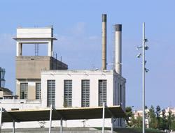 L'antic edifici de calderes de la fàbrica Pirelli