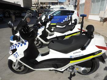 Noves motocicletes de la Policia local