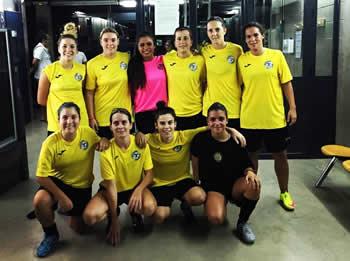 primer equip escola de futbol femení Vilanova