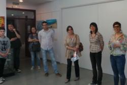 La regidora de Cultura i Escoles Municipals, Marijó Riba, va inaugurar l'exposició