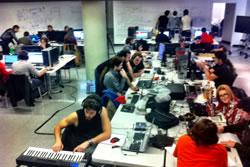 6 equips han competit durant 48 hores a la Global Game Jam de Neàpolis