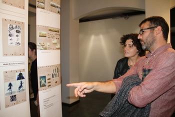 La regidora de Cultura, Teresa Llorens, ha inaugurat la mostra