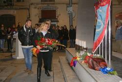 Ofrena institucional per homenatjar les víctimes de l'holocaust