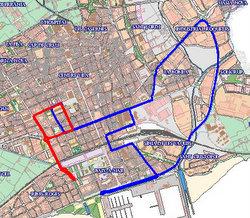 Mapa bus llançadora
