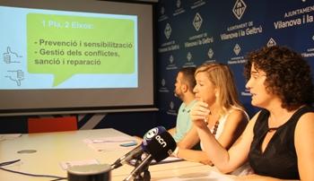 La regidora ha presentat el Pla a la premsa