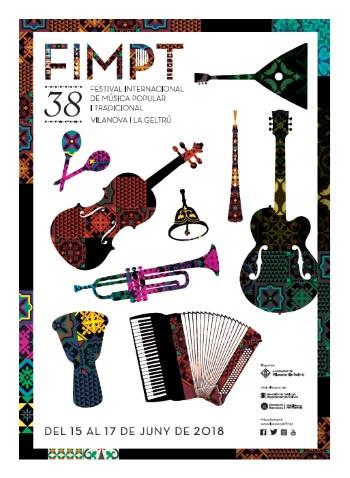 La imatge del FIMPT 2018 és obra d'Albert Lleó
