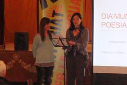 Queti Vinyals, coordinadora del programa, i Ariadna Llorens, regidora d'Educació