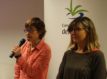 Glòria Garcia i Blanca Albà