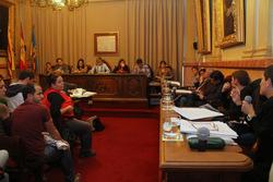 La sessió plenària de dilluns a l'Ajutmanet de VNG