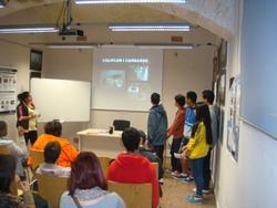 Els alumnes van exposar els projectes mediambientals que treballen al seu centre