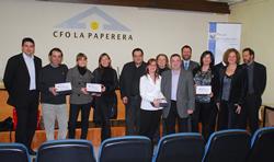 Els guanyadors de la primera edició dels Premis E-mprendre