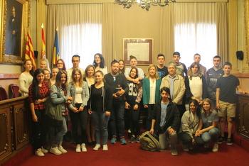 Els nois i noies de Vilanova ja els van visitar el mes de març