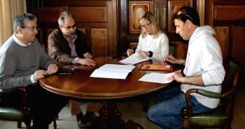 Signatura Conveni IMET Confraria de Pescadors