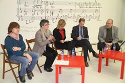 Blanca Albà, Marijó Riba, Neus Lloveras, Josep Oliva i Joaquim Garrigosa