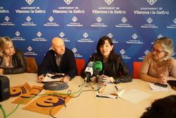 Pilar Contreras, Joan Gómez, Ariadna Llorens i Elisabet Arnó