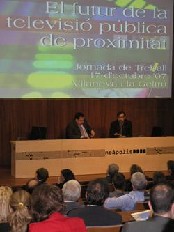 Presentació de la Jornada a Neàpolis