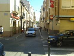 Fins ara el senyal d'stop el troben els vehicles que circulen pel carrer de Josep Llanza