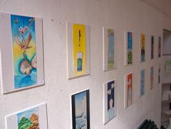 Les obres són creacions dels joves artistes de la ciutat
