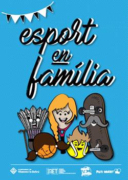 cartell esport en família