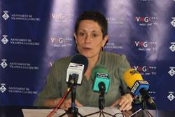 Iolanda Sánchez, aquest migdia