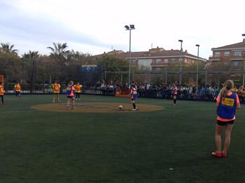 Partit futbol femení