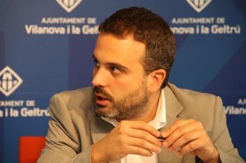El regidor de Medi Ambient, Gerard Llobet