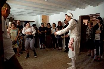 La visita ´'Hostes vingueren que de casa ens tragueren' és de les més exitoses al Papiol