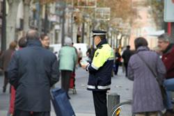 La policia tindrà molta presència al carrer per la Fira