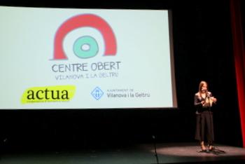 La regidora de Serveis Socials i Salut, Gisela Vargas, a la presentació