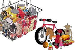 Campanya solidària aliments i joguines