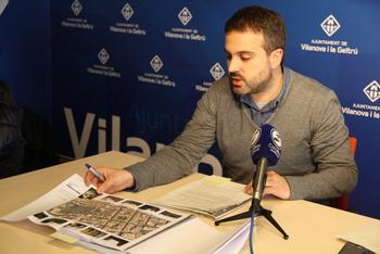 El regidor d'Urbanisme, Gerard Llobet, va explicar la modificació en roda de premsa